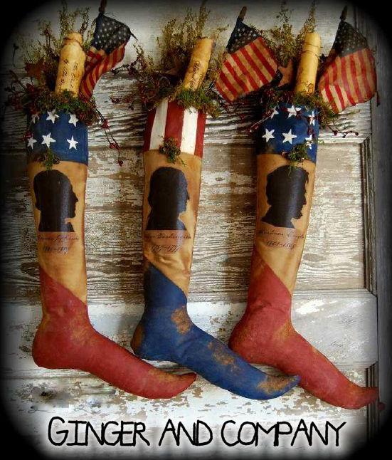 Americana President's Stockings