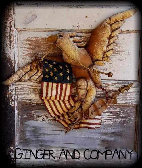 Patriotic Eagle  America
