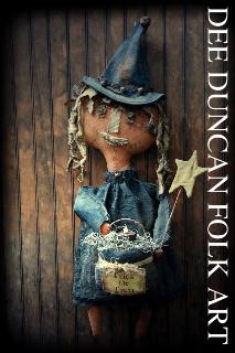 Miss Aggie Pumpkin Witch & Her Cauldron