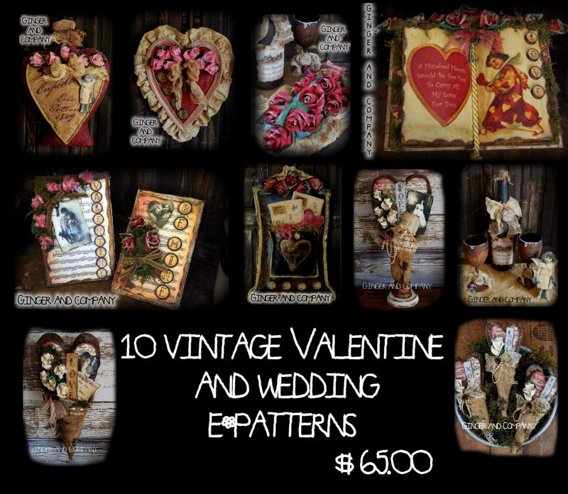 10 Vintage Valentine Patterns