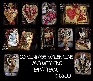10 Vintage Valentine Patterns