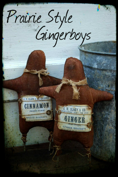 Prairie Style Gingerboys