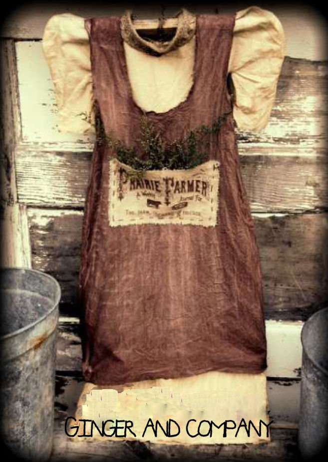 Vintage Dress - Prairie Farmer