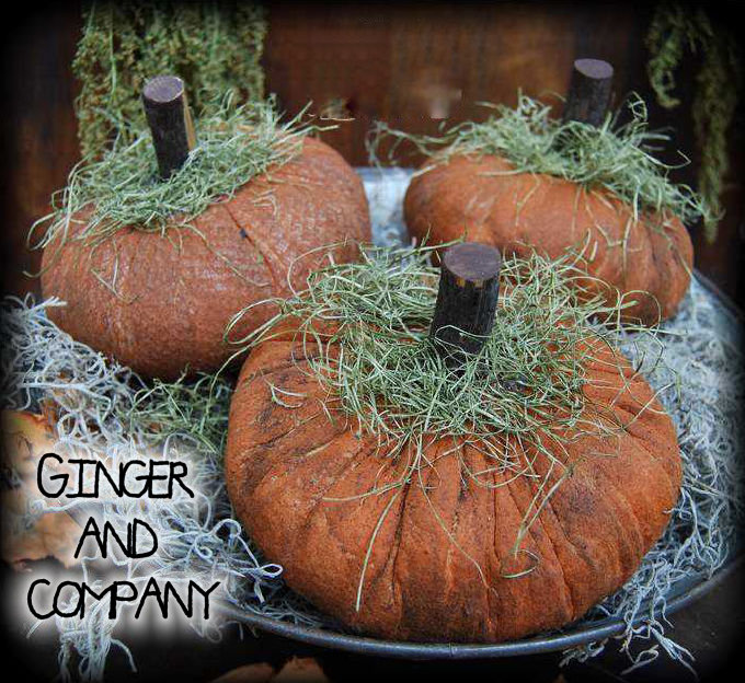 Grungy Batting Pumpkins