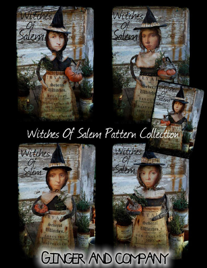 Witches Of Salem Pattern Collection
