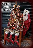Christmas Tree On Antique Chair