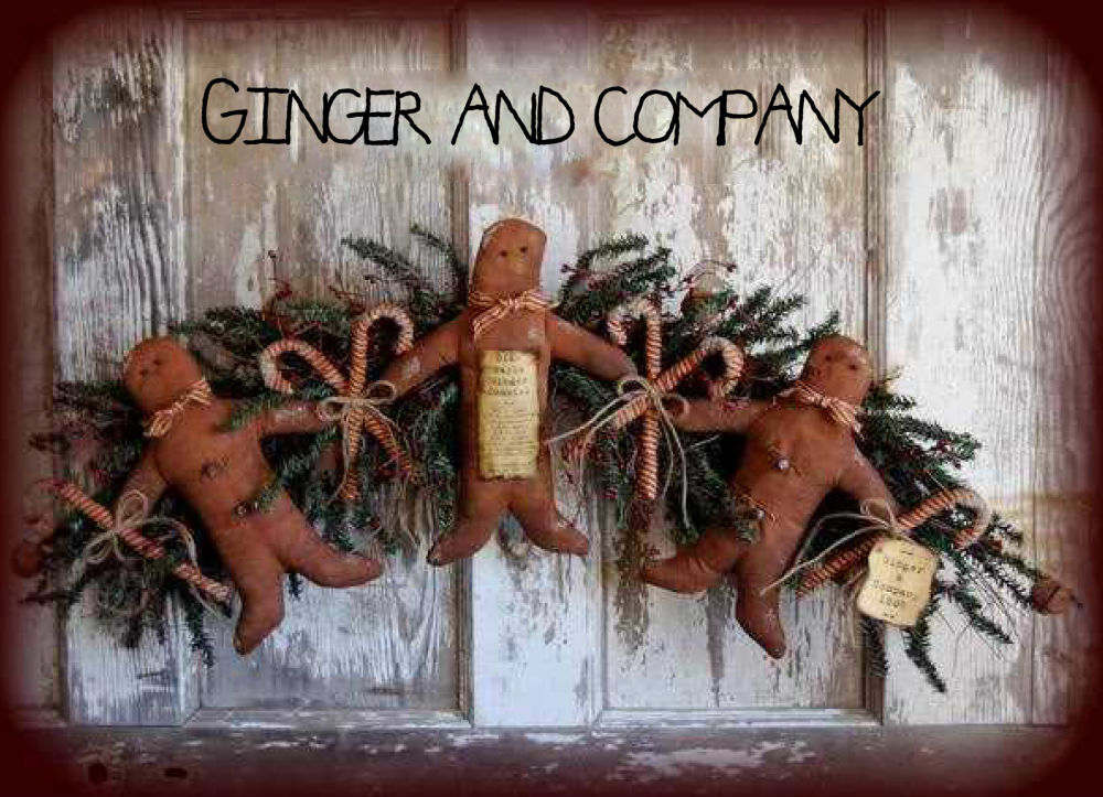 Grungy Gingerbread Garland