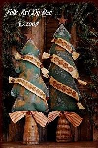 Olde Style Christmas Trees