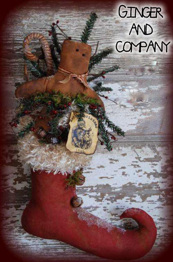 Santa's Elf Boot