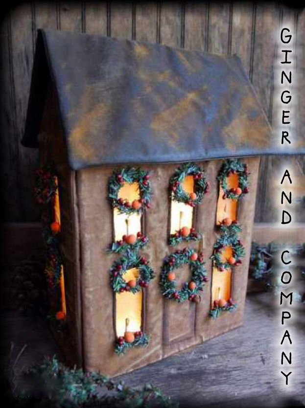 Colonial Christmas House Luminare