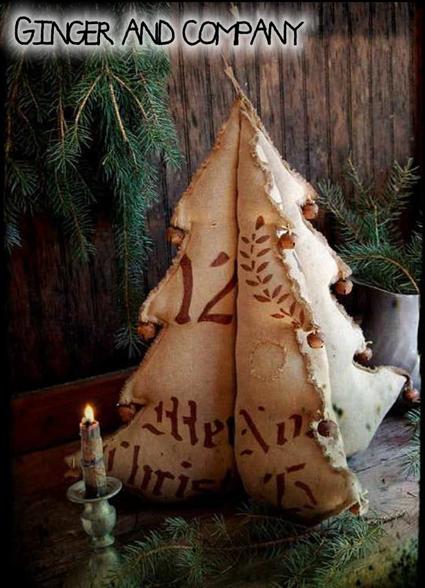 Old World German Grain Sack Tree