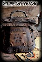 Civil War Mail Bag & Envelopes