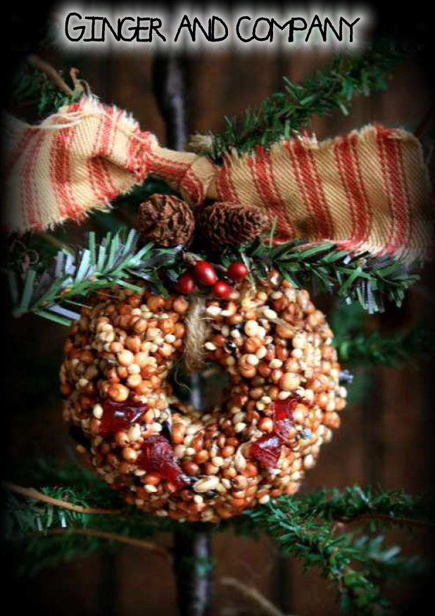 Settlers Seed & Cranberry Wreath