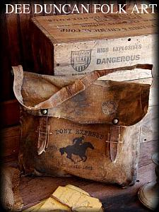 Pony Express Mail Bag