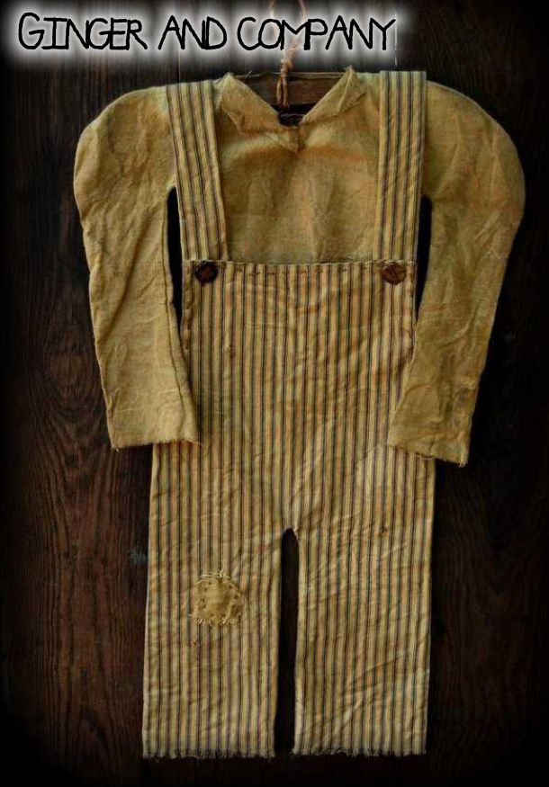 Settlers Overalls & Shirt