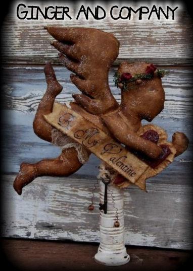 Vintage Valentine Cupid