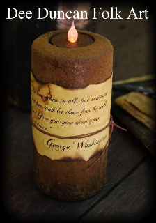 Early Lighting Candle & Tea-Lite Recipe