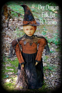 Vintage Witch Trick Or Treat