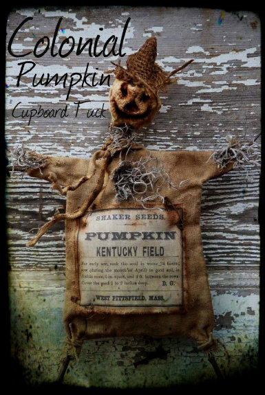 Colonial Pumpkin Cupboard Tuck