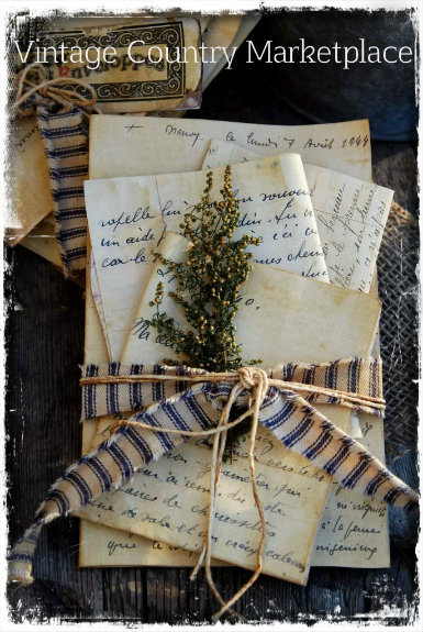 Vintage French Letter Bundle E-Printables