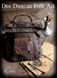 Civil War Mail Bag & Envelopes