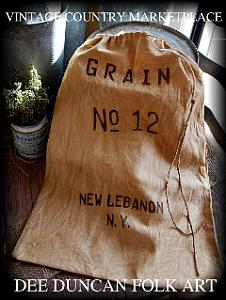 Vintage Style Grain Sack E-Collection 10