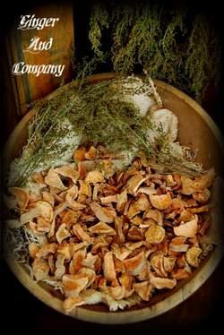 Early Dried Sweet Potatoe Chunks & Garland