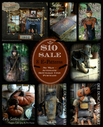 Fall 2014 Pattern Sale  $10 For 8 Digital Downloads